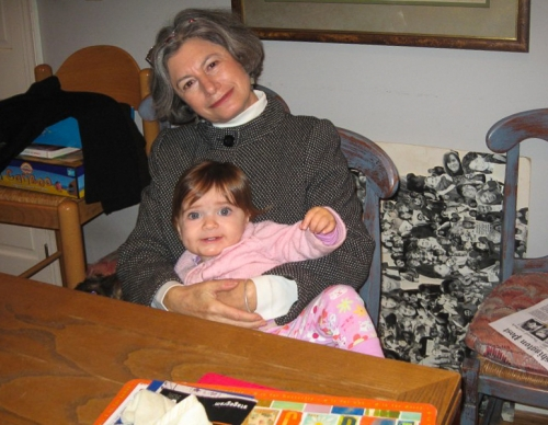 My mom, Beth-Ann Gentile, with her baby granddaughter, Charlotte, in 2006.